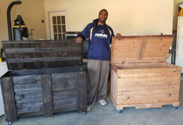 Two Pallet Storage Chests From Ten Pallets! Pallet Boxes & Chests