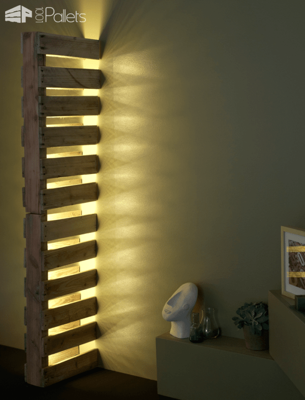 10 Pallet Lighting Ideas You Will Love Pallet Lamps & Lights