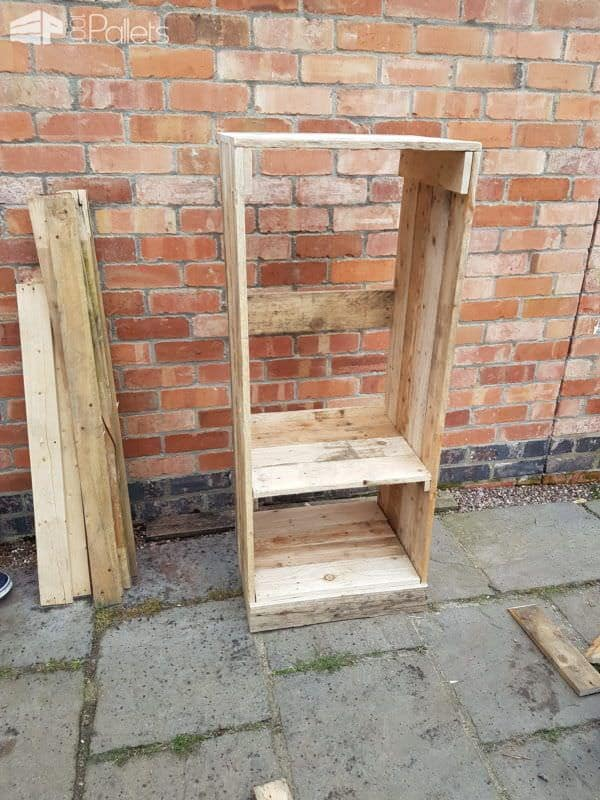Pallet Wine Rack/Book Shelf Unit4