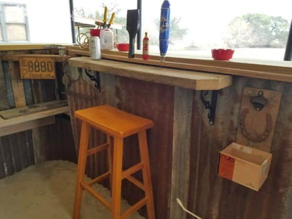 Country Western Saloon Pallet Backyard Bar Pallet Bars