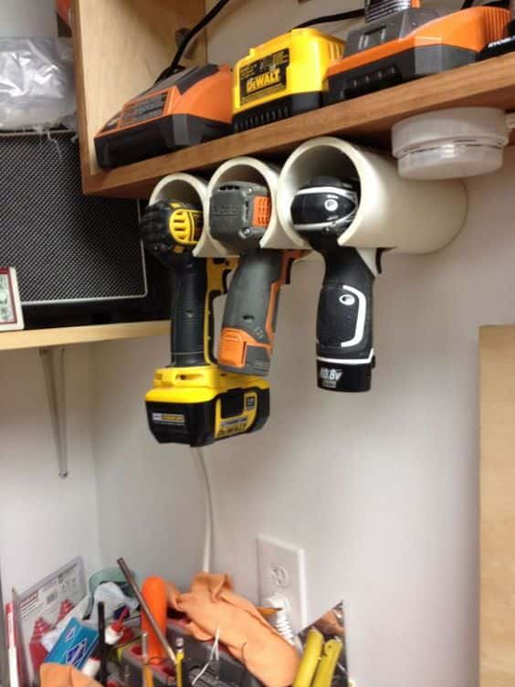 Diy: Brilliant Cordless Tool Station You Can Make (With Plans & Directions)