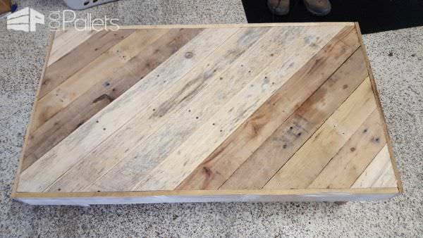 Pallet Coffee Table With Matching End Tables2