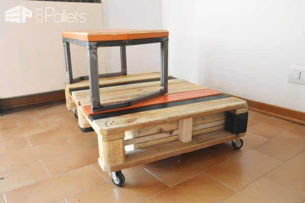 Bi-Level Pallet Sofa Table6