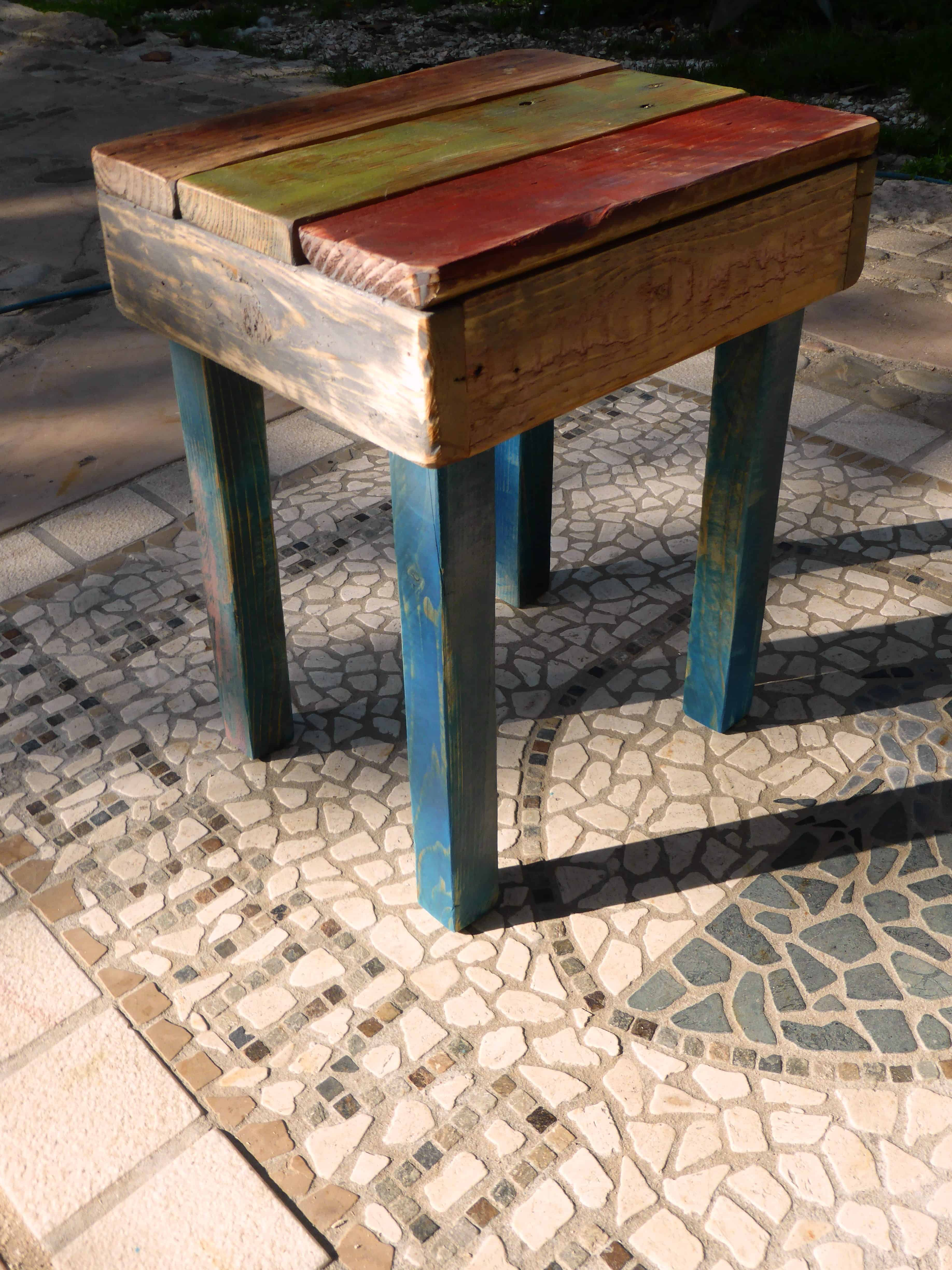Sgabelli Con Pallet.How To Build An Easy Pallet Stool Come Costruire Uno