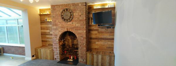 Feature Walls Using Pallets1