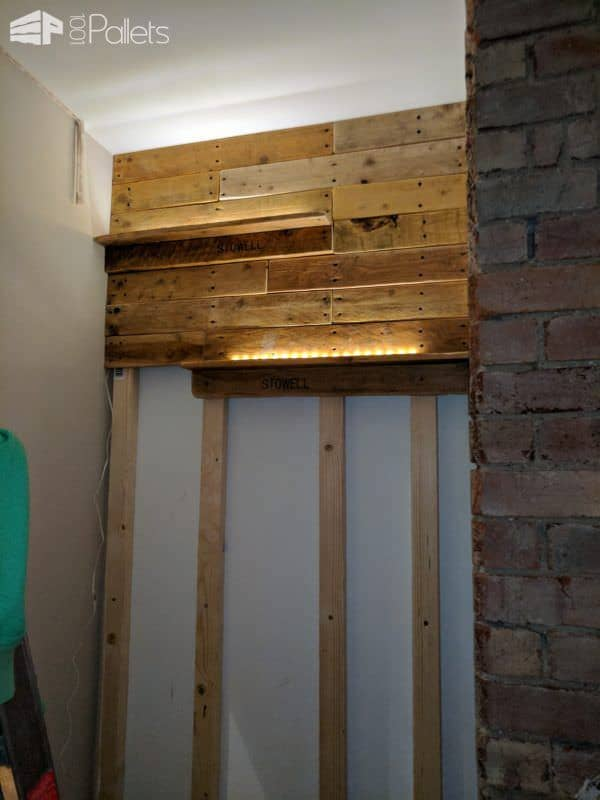Feature Walls Using Pallets7