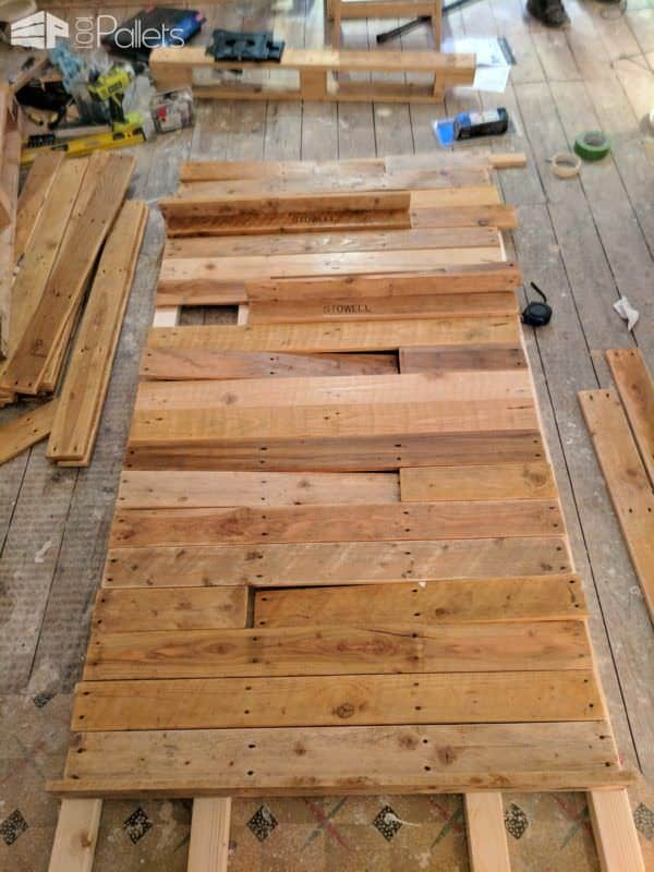 Feature Walls Using Pallets6