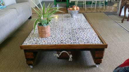 Moroccan-inspired Pallet Coffee Table
