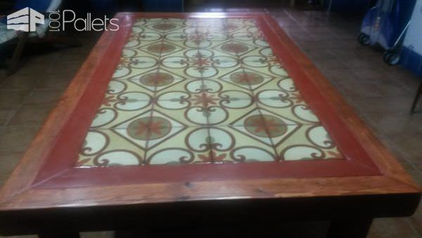 Pallet Wood Outdoor Table4