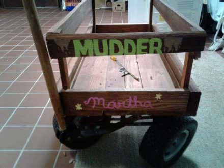 Pallet Yard Wagon For Mom