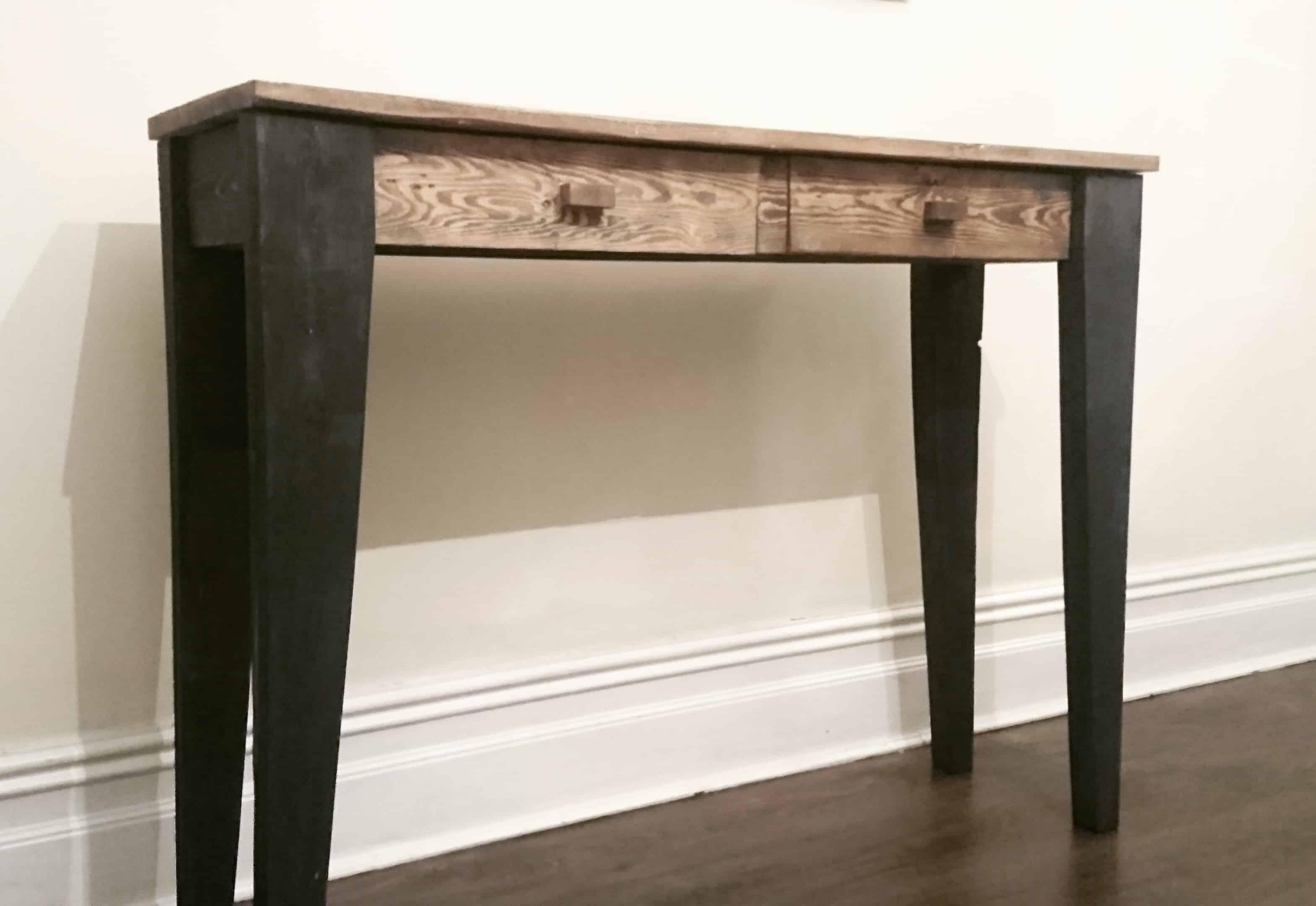 upcycled elegance pallet console table 1001 pallets