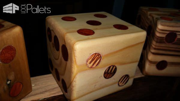 Yardzee Pallet Dice Set5