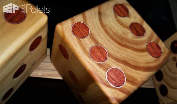 Yardzee Pallet Dice Set6
