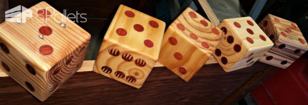 Yardzee Pallet Dice Set3