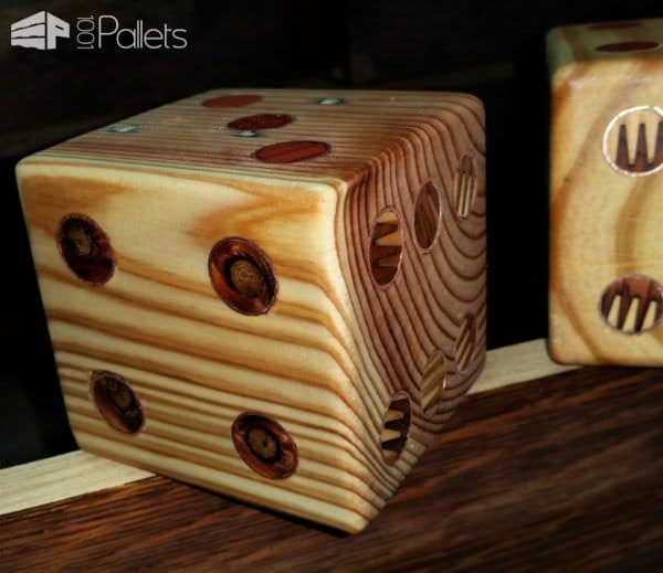 Yardzee Pallet Dice Set2