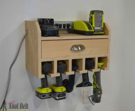 Brilliant Cordless Tool Station You Can Make