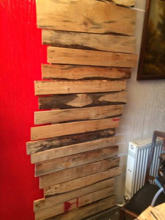 Change Drab Into Fab Making Pallet Wall Accents 1001 Pallets