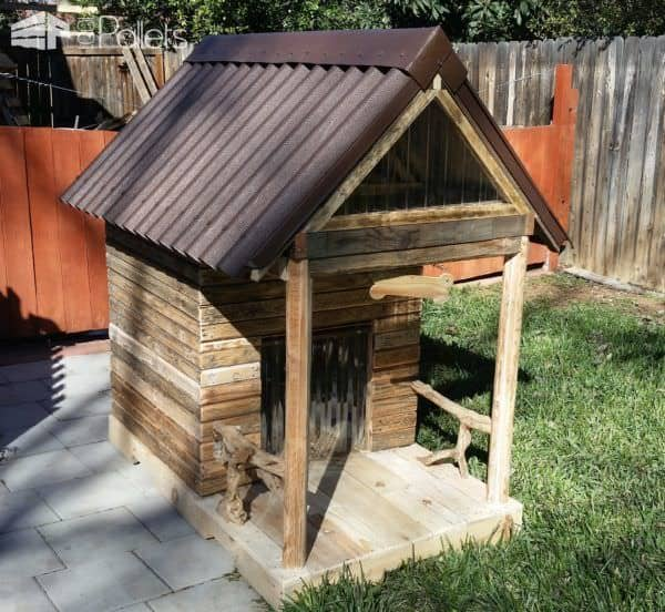Custom Large Pallet Dog House Can Convert Into Kids