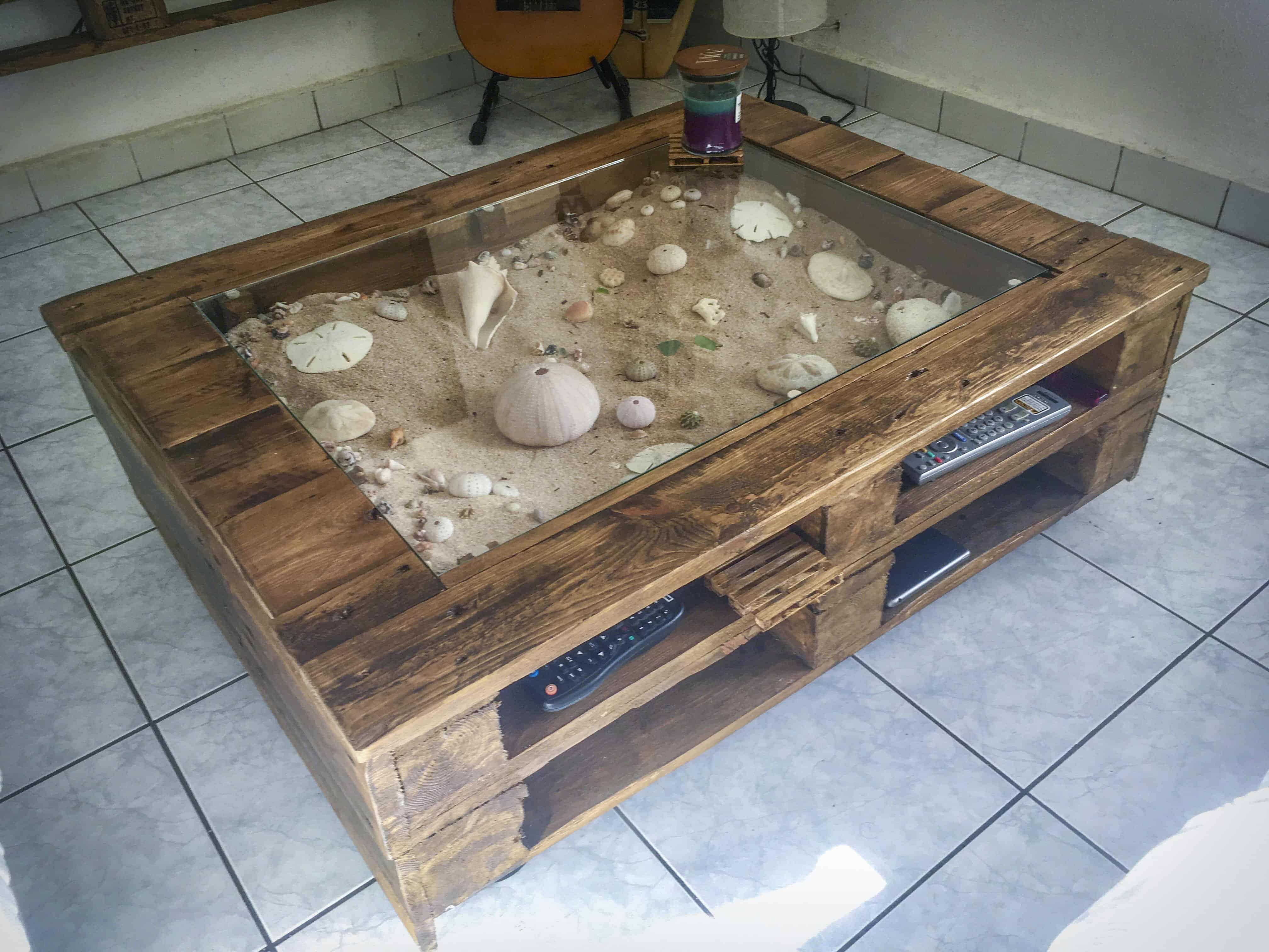 Mega march ideas top 10 pallet projects march 2017 1001 - Table basse avec des palettes ...