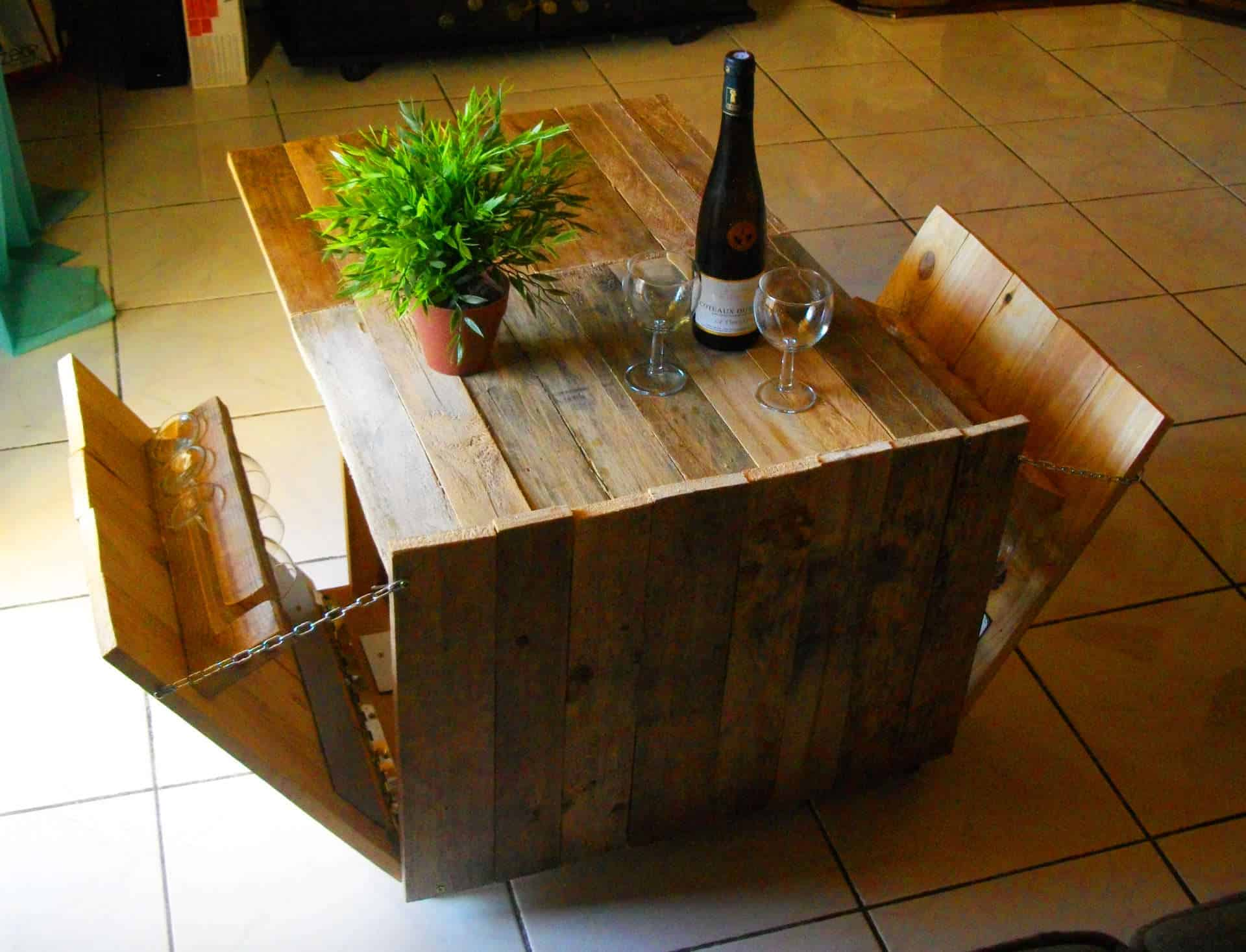 Diy pdf tutorial modular pallet coffee table 1001 - Table basse modulable conforama ...