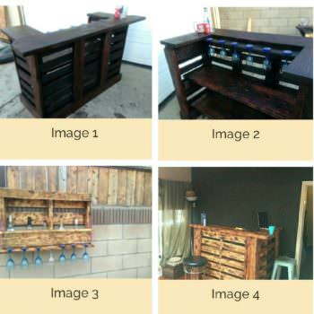 Pallet Bar Wall Rack Ideas You Can Do Easily!