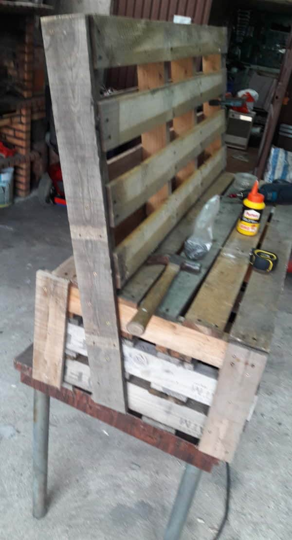 Pallet Box Bench Can Be Used Almost Anywhere! Pallet Benches, Pallet Chairs & Stools