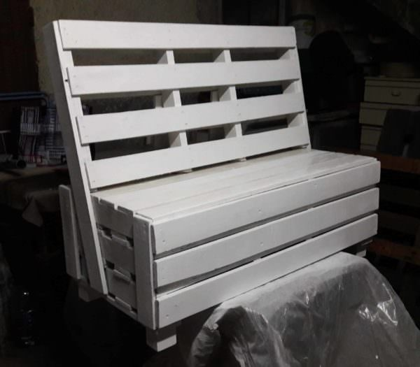 used pallet furniture. Pallet Box Bench5 Used Furniture