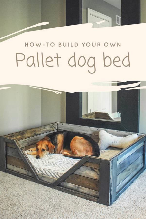 Diy Pdf Tutorial Pallet Dog Bed 1001 Pallets Free Download