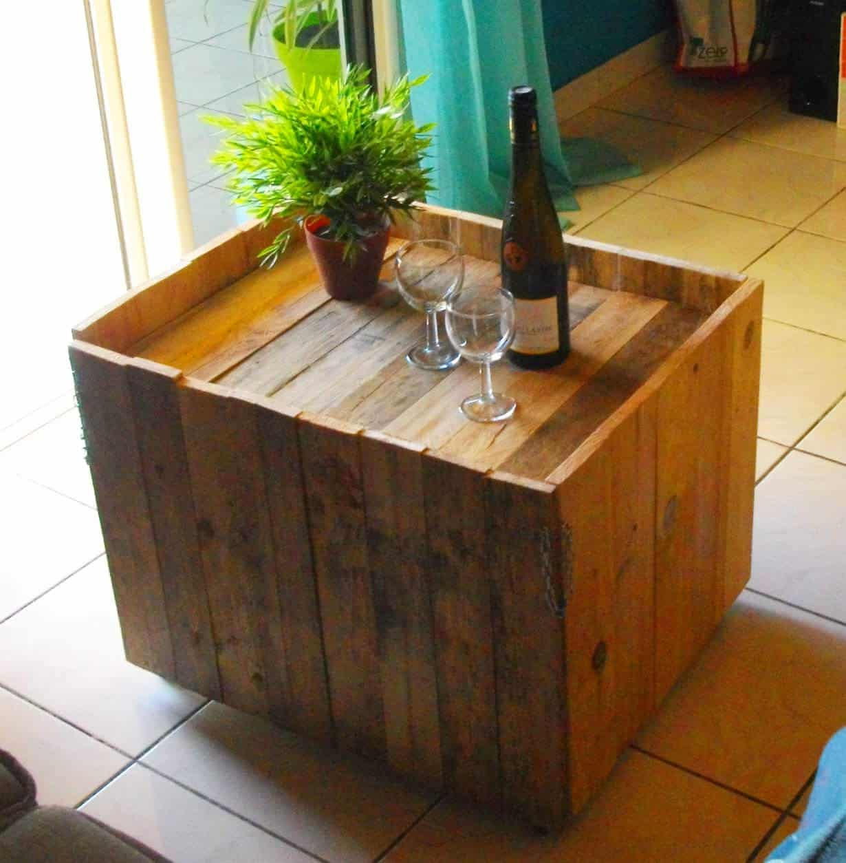 Diy pdf tutoriel table basse modulabe 1001 pallets gratuit - Table basse palette roulettes ...