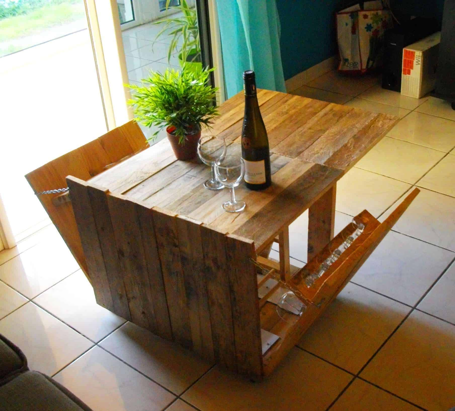 Diy pdf tutoriel table basse modulabe 1001 pallets gratuit - Table basse palette blanche ...