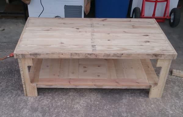 Special Pallet Coffee Table4