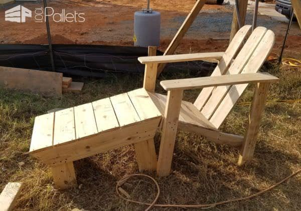 Adirondack Chairs With Foot Rests3