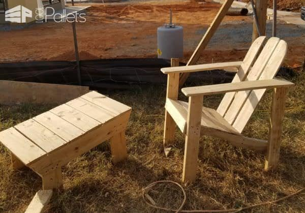 Adirondack Chairs With Foot Rests4