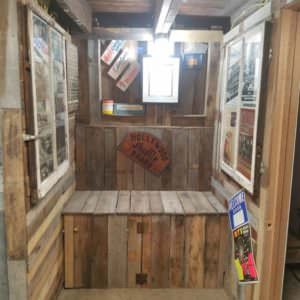 Ultimate Pallet Man Cave Features Epoxy Penny Bar Pallet Bars Pallet Walls & Pallet Doors