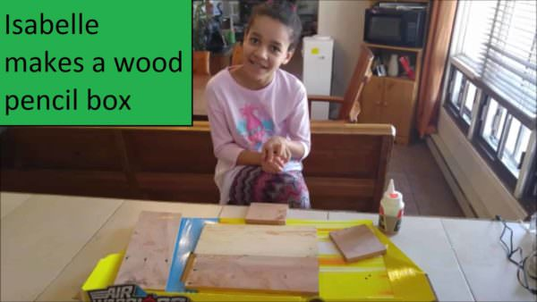 Cutest Video Tutorial Ever: Easy Pallet Pencil Box For Kids DIY Pallet TutorialsFun Pallet Crafts for KidsPallet Boxes & Chests
