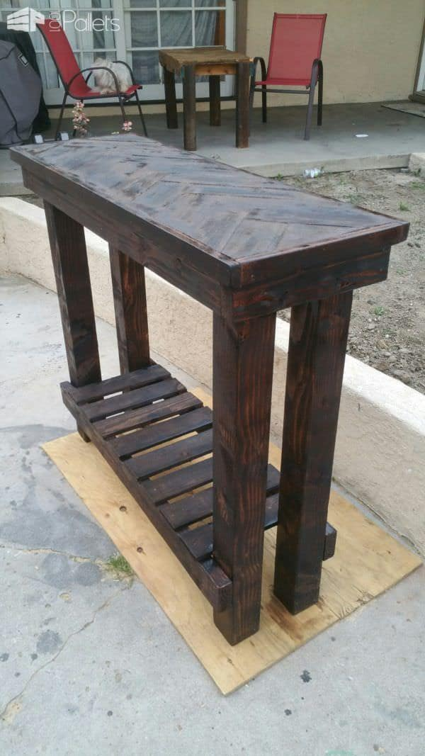Herringbone Pallet Entry Table 1001 Pallets