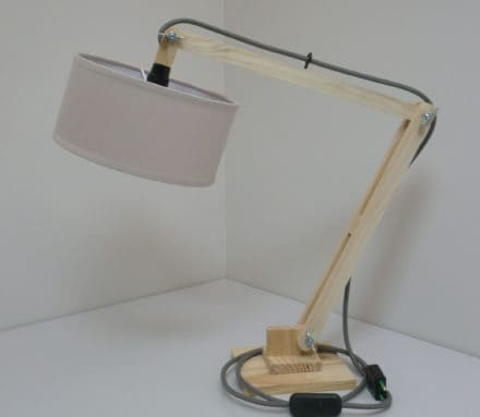 Lovely Little Pallet Lamp / Lampe Archi Palette