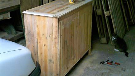 Diy pallet furniture pallet ideas 1001 pallets Meuble en bois de palette