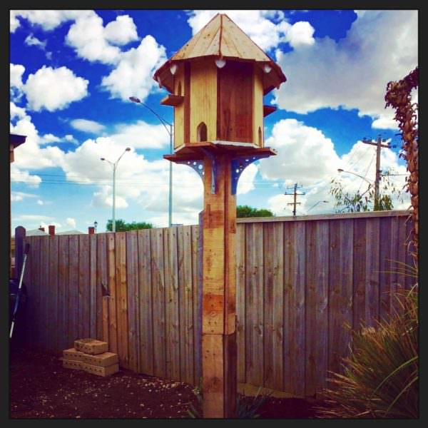 Pallet Dovecote Birdhouse For The Birds Animal Pallet Houses & Pallet Supplies