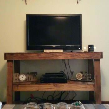 Pallet Television Stand Entertainment Center