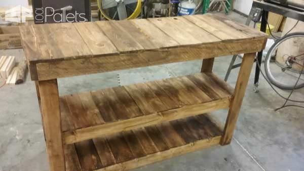 Pallet Television Stand Entertainment Center Pallet TV Stands & Racks