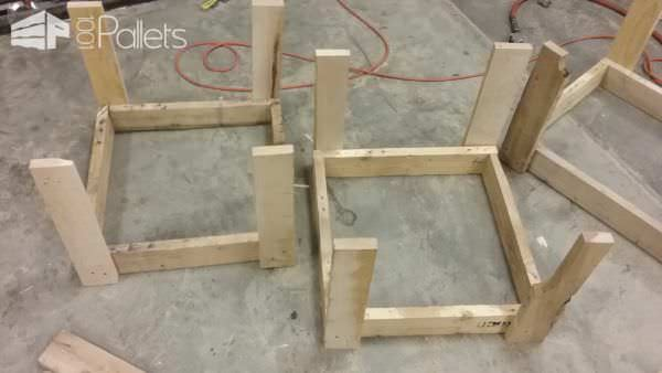 Pallet Wood Planter Boxes Pallet Planters & Compost Bins