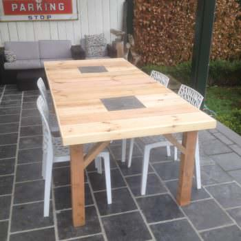 Several Pallet Tables Done in Different Styles
