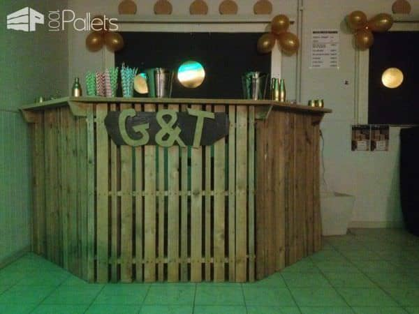 Several Terrific Pallet Bars For Your Back Yard 1001 Pallets