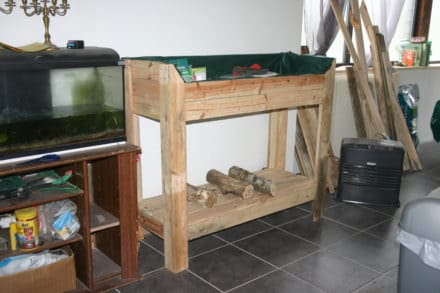 Little Pallet Potting Bench / Etabli De Rempotage