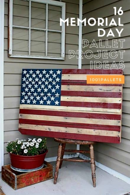 16 Memorial Day Pallet Project Ideas