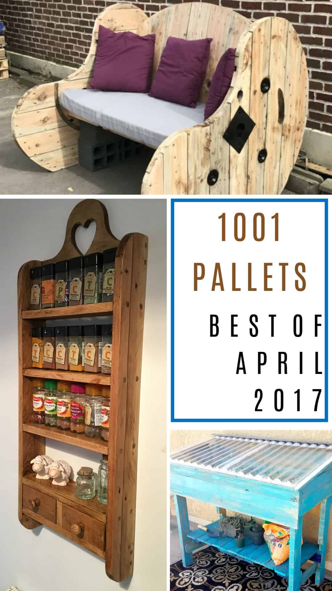 Awesome April Diy Pallet Projects 2017 You Picked Them 1001 Pallets