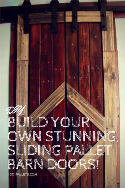 Build Your Own Stunning Sliding Pallet Barn Doors!