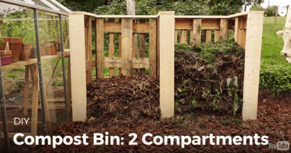 Make Your Own Pallet Compost Bins 2 Pallet Planters & Compost Bins Pallet Tutorials