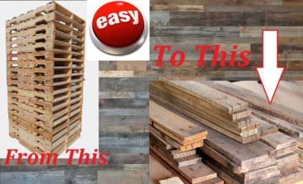 Diy Video Tutorial: Dismantling Pallets The Fastest, Easiest Way!